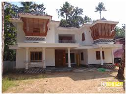 Low Cost Home Building Traditional Home Designs 4 Bedroom Colonial Plan Kerala Hahnow