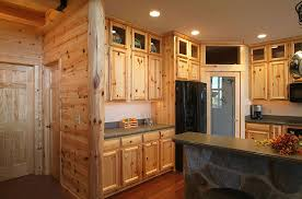 Knotty Pine Kitchen Cabinet Doors Fashioned Knotty Pine Kitchen Cabinets Home Design Ideas