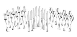 oneida chef u0027s table dining 24 piece flatware set u0026 reviews wayfair