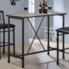 pottery barn bar table contemporary bar table with regard to griffin reclaimed wood height
