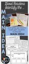 teaching main idea vs theme thought process lesson plans