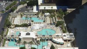 mandalay bay pool map pools at luxor from top of mandalay bay hotel picture of luxor