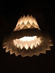 Origami Light Fixture 63 Best Lampshade Images On Pinterest Lampshades Origami Paper