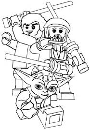 lego man coloring pages to print funycoloring