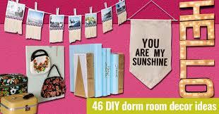 diy rooms 46 best diy dorm room decor ideas