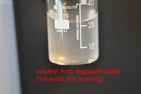 how can i decontaminate agilent 1100 g1322a degasser