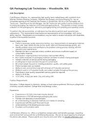 Microbiologist Resume Sample by Quality Control Technician Resume Sample Free Resume Example And