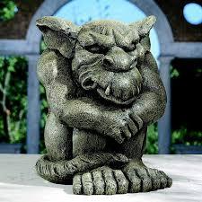 design toscano detest the rest gargoyle statue reviews wayfair