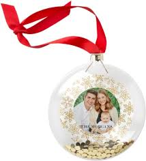 golden snow glitter ornament ornaments shutterfly