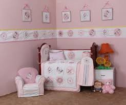 Dragonfly Crib Bedding Set 3d Embroidery Pink Butterfly Dragonfly Quilt Bumper Cushion Pillow