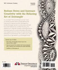 amazon com joy of zentangle drawing your way to increased