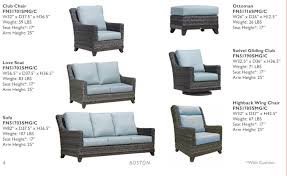Pvc Wicker Patio Furniture by Wicker Land Patio Boston Deep Seating All Weather Resin Wicker