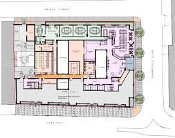 Floor Plan For Hotel 62 68 York Way U2013 Whitbread Submit Planning Application For Hotel