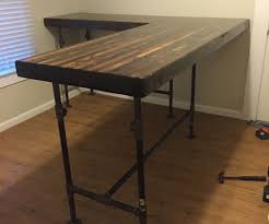 Desk L Diy Awesome Diy Pipe Desk Plans Gallery Liltigertoo