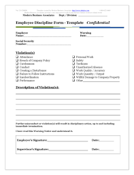 disciplinary template form 46 effective employee write up forms