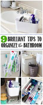 bathroom organizers ideas 9 easy tips to organize the bathroom clean and scentsible