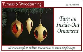 turn an inside out ornament 360 woodworking