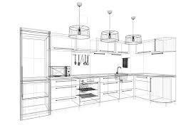 taille plan de travail cuisine dimensions plan de travail cuisine idées décoration intérieure