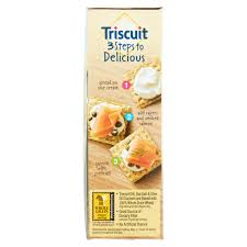 nabisco triscuit dill sea salt u0026 olive oil crackers 9 oz