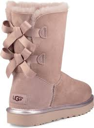 uggs on sale bailey bow womens ugg s bailey bow ii metallic free shipping free returns