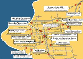 Aurora Map Map Of Sites U2013 Alpar