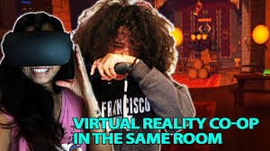 co op vr dungeon crawl in the same room rec room oculus touch