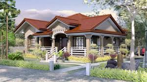 house with floor plans simple bungalow house with floor plan youtube