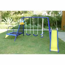 outdoor swing set playground kids backyard playset by sportspower