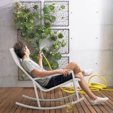 maze wall hanging by cb2 helps create a verticle garden elite choice