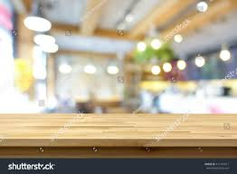 Wooden Table Top View Png Wood Table Top On Blur Background Stock Photo 411419911 Shutterstock