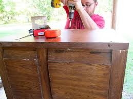diy kitchen island from a dresser tasha wiginton