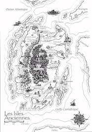 Shannara Map Jrr Tolkien A Mule In The Chapter House