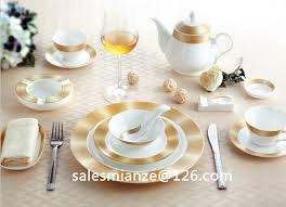 golden china pattern golden pattern bone china porcelain tableware ceramic