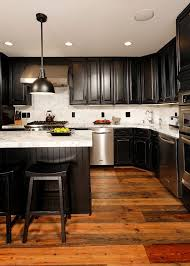 Black Modern Kitchen Cabinets by Contemporary Kitchen Cabinet Paint Colors Recommendation 862