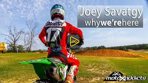 motocross action motoxaddicts joey savatgy shredding ricky carmichael u0027s farm
