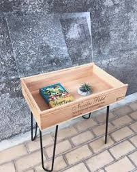 How To Make Wine Crate Coffee Table - i love this upcycled wine crate coffee table great ideas