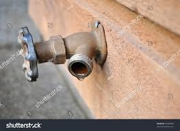 Faucet Drips Brown Iron Faucet Drips Water Dip Stock Photo 50580202 Shutterstock