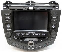 honda accord radio recall 2004 2005 honda accord factory stereo 6 disc cd changer nav