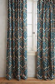 Gray And Teal Curtains Crest Curtain In Teal