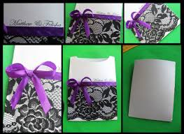 diy simple u0026 elegant wedding invitation pockets youtube