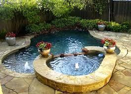 Backyard Swimming Pool Ideas Small Yard With Plunge Pool 15 Great Small Swimming Pools Ideas