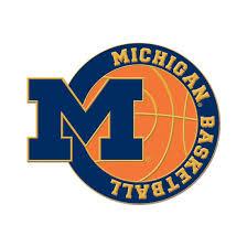 alumni pin wincraft of michigan basketball block m lapel p