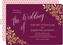 floral foil floral wedding invitations floral wedding invites