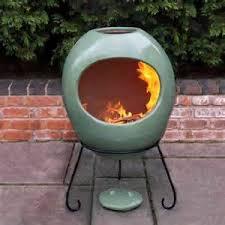 Extra Large Clay Chiminea Clay Chimenea Large Terracotta Chiminea Patio Heater Fire Pit Bbq