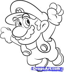 learn how to draw super mario video game characters pop culture