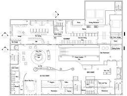 Restaurant Kitchen Floor Plan Commercial Kitchen Layout Dwg