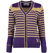 purple sweater s purple washington huskies striped sweater of