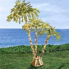 artificial pre lit palm tree home depot lighted trees best