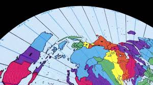 Time Zone Map World Clock by Flat Earth Time Zones By Paul Cheefts Youtube