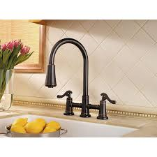 2 handle pull kitchen faucet tuscan bronze ashfield 2 handle pull kitchen faucet lg531